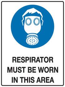 Respirator Sign