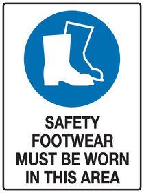 Safety Footwear Sign