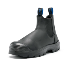 Steel Blue Mens Hobart Elastic Sided Safety Boot