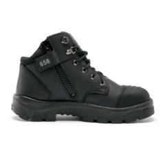 Steel Blue Parkes Zip Safety Boot