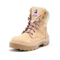 Steel Blue Southern Cross Womens Sand Zip Safety Boot