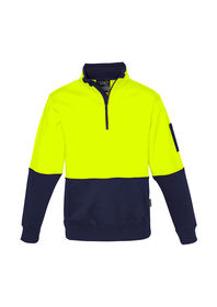 Syzmik Hi Vis Half Zip Pullover