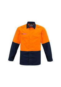 Syzmik Mens Hi Vis Spliced Shirt
