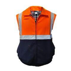 TUFFA Hi Vis Wool Bluey Vest