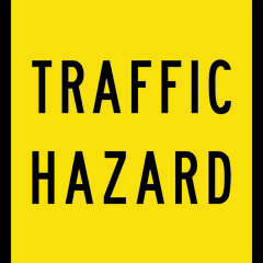 Traffic Hazard Sign