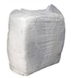 Workshop Cotton Rags White 10kg