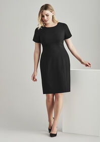 BizCorporates Womens Short Sleeve Dress