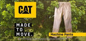CAT MACHINE PANT